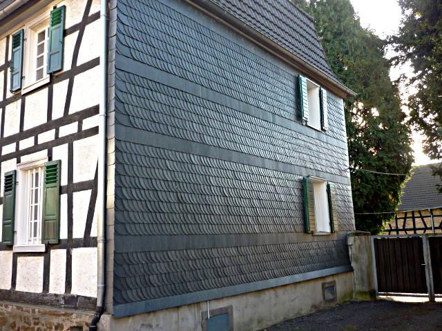 Fassadenverkleidung Wanddammung Schorn Dachbau Hennef